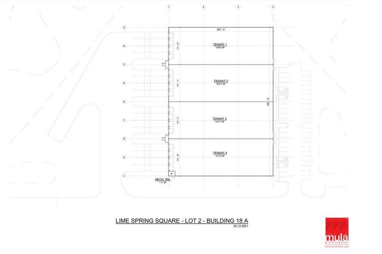 Building 18A Lot 2 - Lot Breakdown- Industrial Property