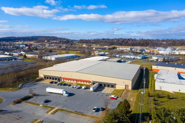 South Tree Drive - Aerial - Industrial Property