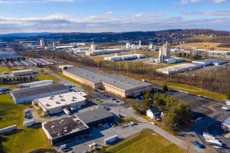 Prestige Lane Industrial Center - Aerial - Industrial Property