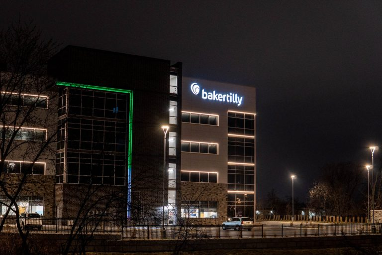 Building One CityGate Corporate Center - Night Time- Office Property